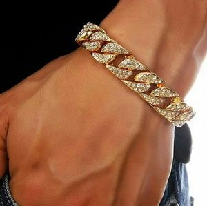 Other - Miami Cuban Link Chain Bracelets for Men Jewelry